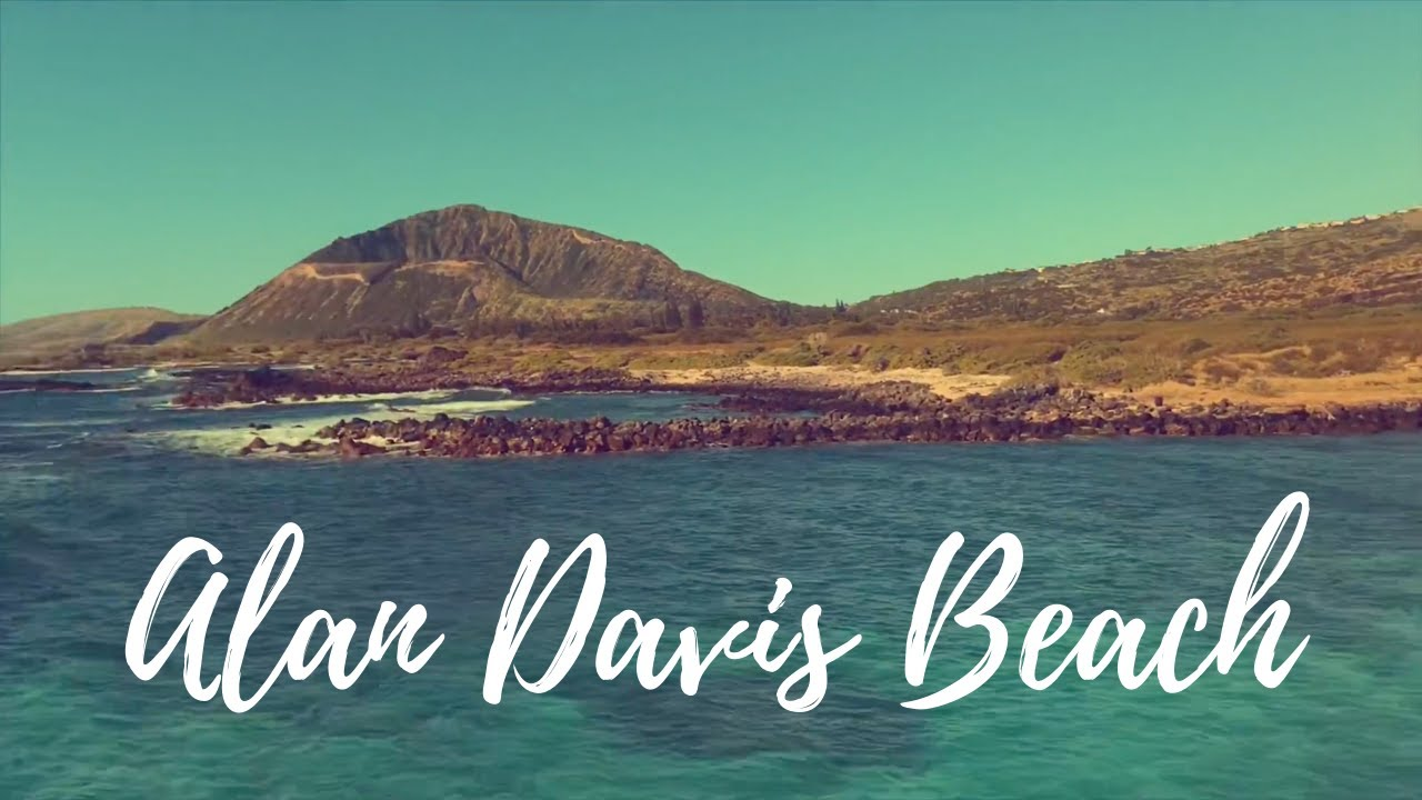 Alan davis beach area