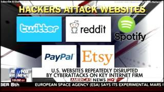 U.S. Websites Repeatedly Disrupted By CyberAttacks on Key Internet Firm.