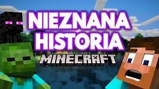 Ukryta NIEZNANA Historia Minecraft !