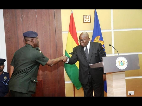 President Akufo-Addo appoints Major Gen. Akwa as new CDS