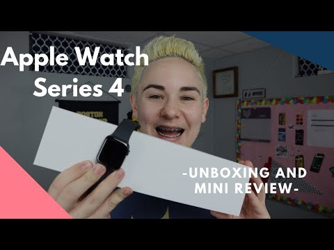 Apple Watch Series 4 Unboxing and Mini Review | DisTech Pro