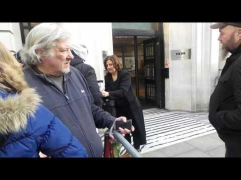 Rebecca Front in London 11 03 2016