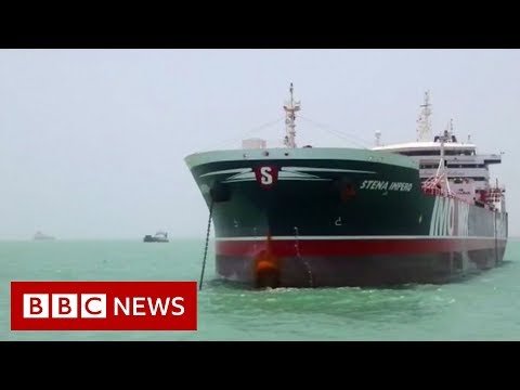 Iran crisis: A tale of two tankers - BBC News