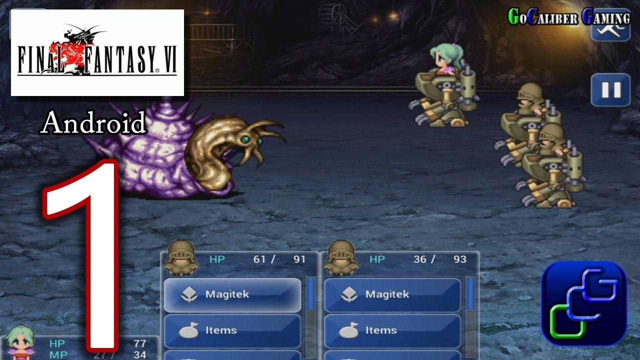 Final Fantasy 6 Rom final fantasy 6 (vi) android walkthrough - gameplay part 1 -
