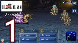 FINAL FANTASY 6 (VI) Android Walkthrough - Gameplay Part 1 -