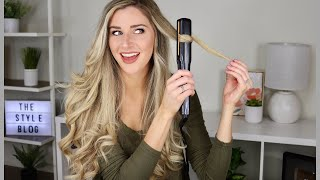 HOW TO CURL YΟUR HAIR WITH A STRAIGHTENER (UPDATED)