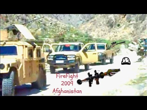 LIVE-Firefight In Nuristan Province Afghanistan