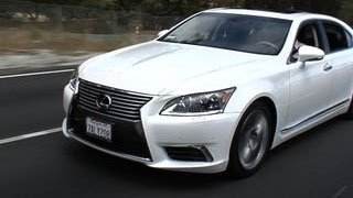 Car Tech - 2013 Lexus LS600hL