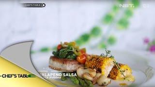 Tuna & Jalapeno Salsa With Corn - Cast Bidadari Terakhir - Chef's Table