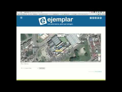 video tutorial uso ejemplar web