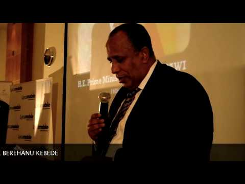 The Late PM Meles Zenawi Honoured by Africans - London 2012