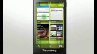 ¿Cómo utilizar el BlackBerry Z10? 09 Personalizar el dispositivo
