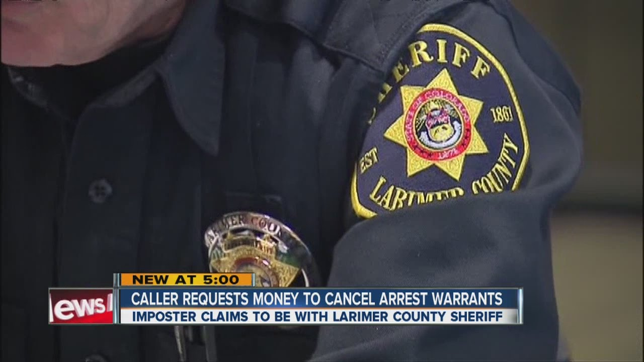 Scammers use name of Larimer Sheriff's Office commander