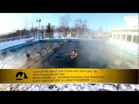 Paratunka Hot Springs in Kamchatka
