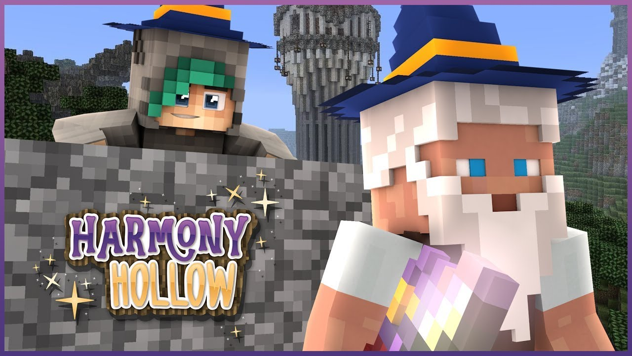 BECOMING THE STRONGEST WIZARD ON THE SERVER! - Minecraft: Harmony Hollow  SMP - S4 Ep 4