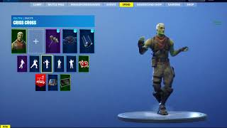 LEAKED *NEW* BRAINIAC(ZOMBIE TFUE) skin showcase with emote Fortnite Battle Royale