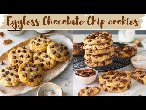 Eggless Chocolate Chip Cookies | The Only Cookie Recipe You Need | Bake With Shivesh
