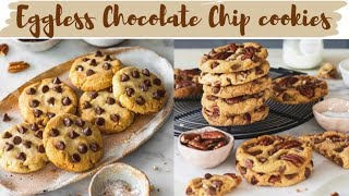 Eggless Chocolate Chip Cookies  The Only Cookie Recipe you Need  Bake With Shivesh