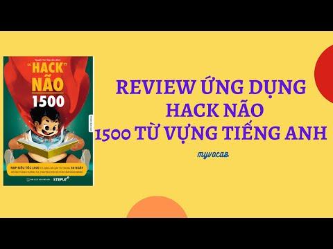 download sách hack não 1500 từ tiếng anh - App Hack não 1500 từ vựng Tiếng Anh