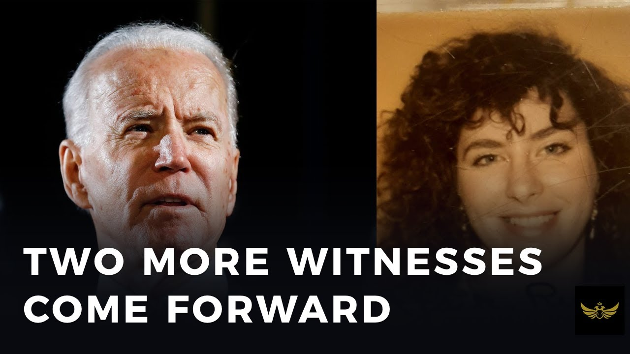 Big trouble for Creepy Joe. Two more witnesses come forward