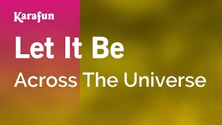 Karaoke Let It Be - Across The Universe *
