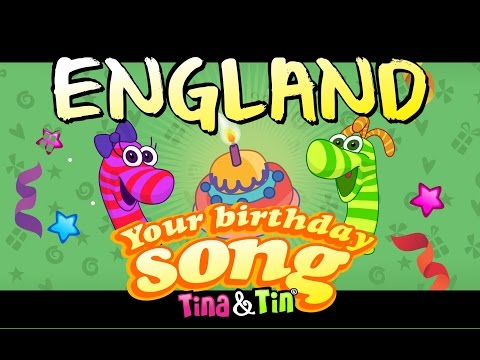 tina&tin-happy-birthday-england-(personalized-songs-for-kids)-#personalizedsongs