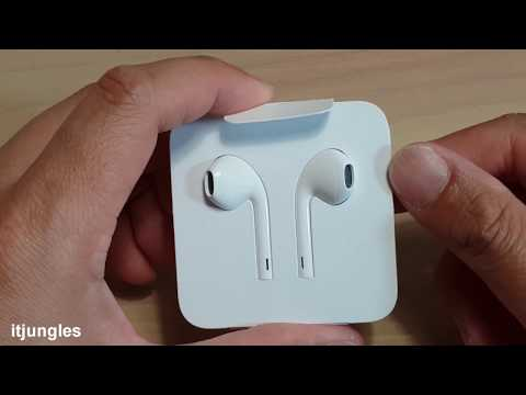 How To Wind / Unwind IPhone Earpods With Paper Packaging (iPhone 7 / 8 / X / XS XS Plus)