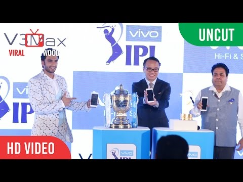 UNCUT -  IPL 9 Trophy Unveiled & Vivo New Smartphone Launch