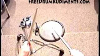 Drum Rudiments #32 - Single Drag Tap - FreeDrumRudiments.com