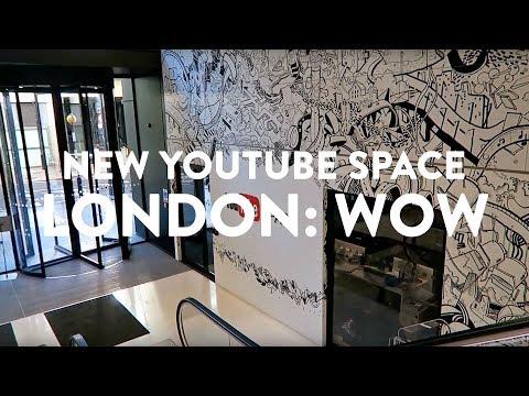 INSIDE GOOGLE'S NEW YOUTUBE OFFICE LONDON