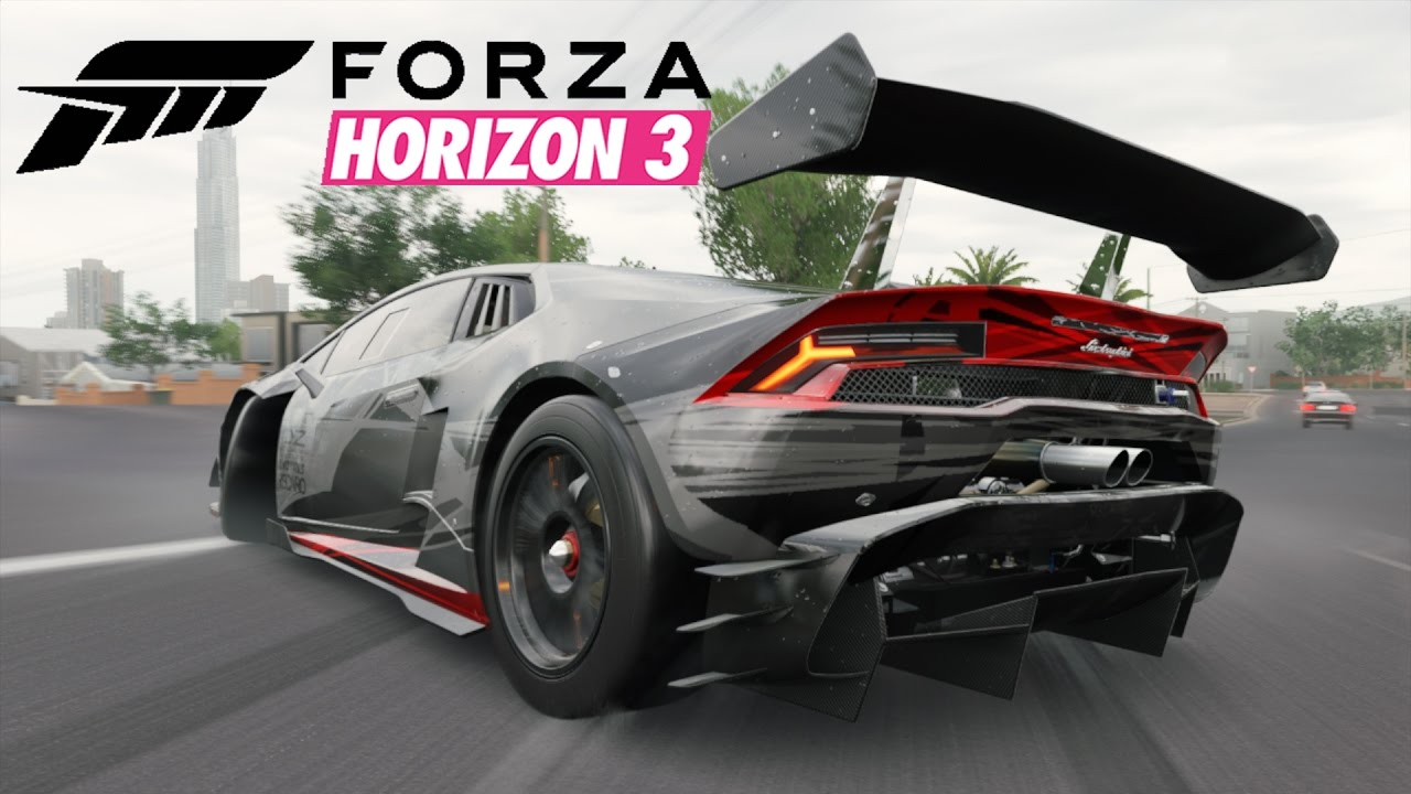 forza horizon 3 09 lamborghini hurac n lp 620 2 i let 39 s. Black Bedroom Furniture Sets. Home Design Ideas