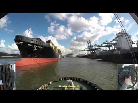 Tugboat Dual Camera #10 - Voith Schneider Controls - Msc Carouge