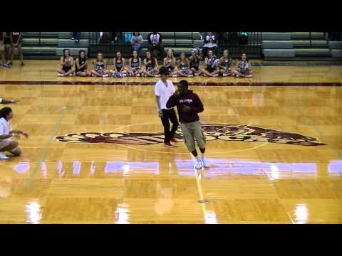 Plano Senior High School DFC's First Pep-Rally of the Year
