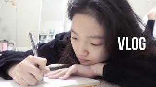 [Youjin Vlog] 고등학생 유튜버의 하루 (가구…