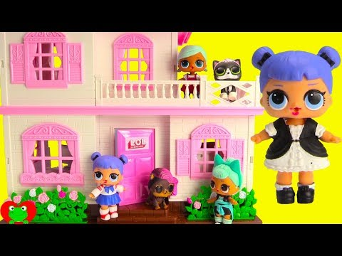 New Lol Surprise Doll House With Dolls And Lol Surprise Pets Youtube