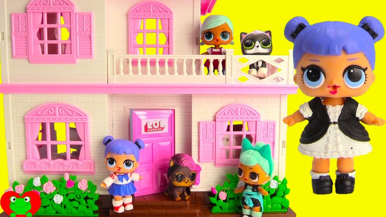 NEW LOL Surprise Doll House with Dolls and LOL Surprise Pets - YouTube