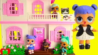 NEW LOL Surprise Doll House with Dolls and LOL Surprise Pets Toy Video