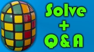 Crazy Pill Solve + Q and A