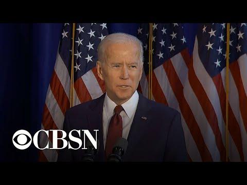 "Biden slams Trump as ""dangerously incompetent"" on Iran"