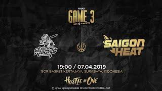 ABL9 || Playoffs - Game 3: CLS Knights vs Saigon Heat  | Full Game Replay