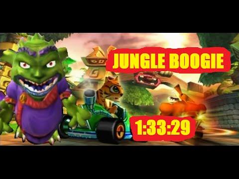 Crash Nitro Kart Velo Jungle Boogie TIME TRIAL PS2