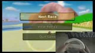 Mario Kart Wii Wheel Demo