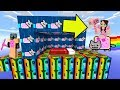 Minecraft: NYAN CAT LUCKY BLOCK BEDWARS! - Modded Mini-Game
