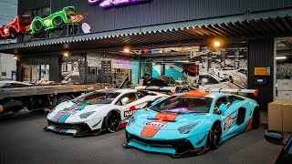 LIBERTY WALK Lamborghinis TROLLS Porsche and Ford