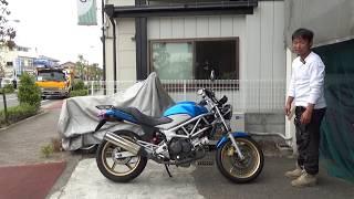 ホンダVTR250:参考動画