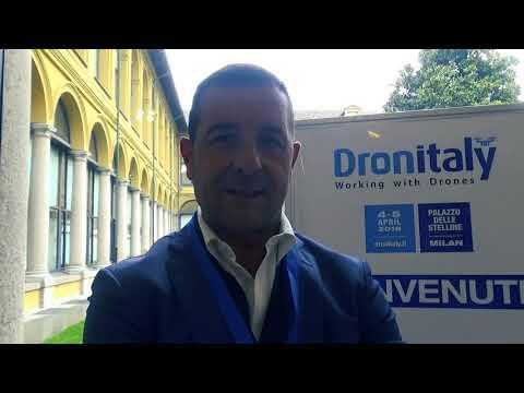 Massimo Marciani (FLC): L'uso dei droni nella logistica