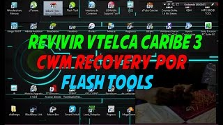 Revivir Vtelca caribe 3 Custom Stock  Zte V791 / Cwm por flash tools / Root / Pc Jesus RodriguezV791