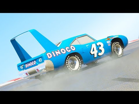 CARS DINOCO CANYON PARKOUR CHALLENGE (Cars Dinoco Lightning Mcqueen)