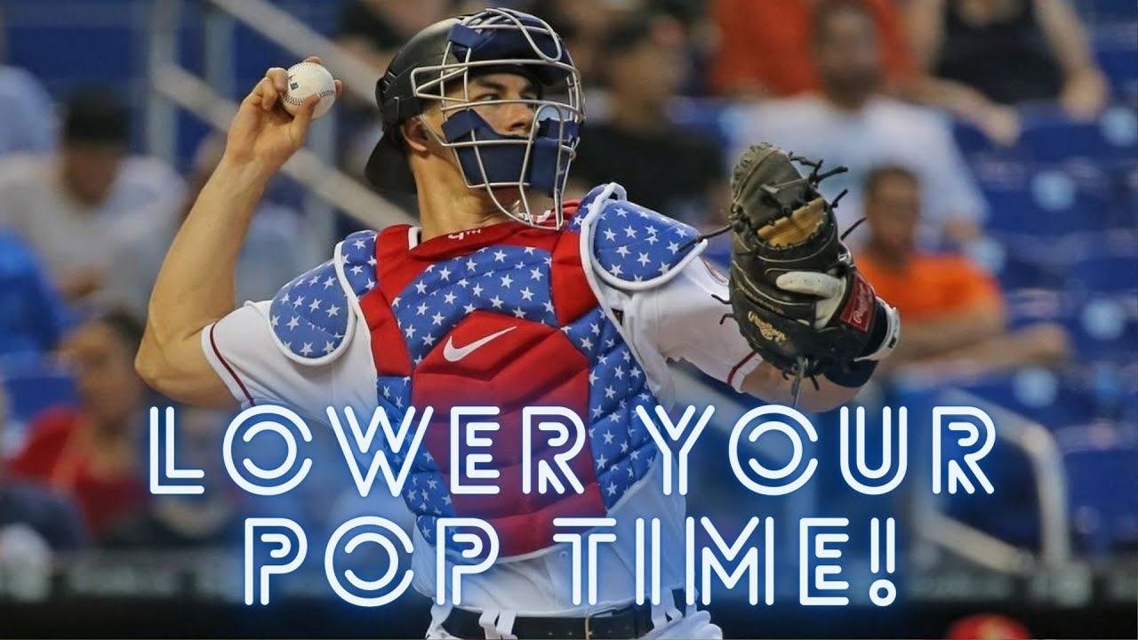 Fastest Way To LOWER Your Pop Time! [Catcher Tips]