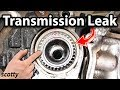 How to Fix a Transmission Leak in Your Car (Axle Seal)